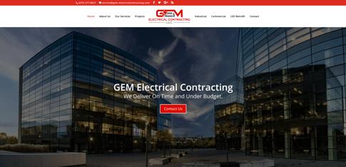 GEM Electric Homepage